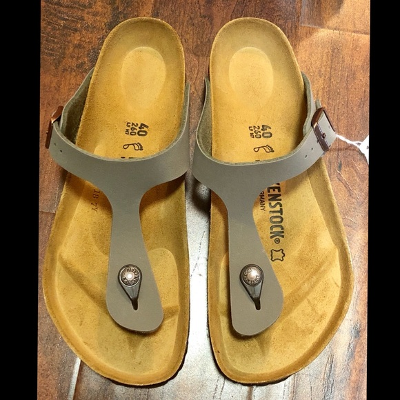 c1003103bfe Birkenstock Gizeh Stone Thong Sandals Birks-flor
